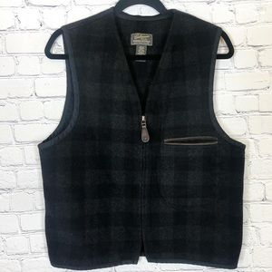 Cabinwear by Banana Republic Checked, Wool Vest